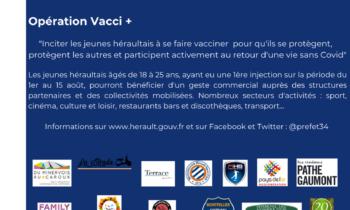 Opération Vacci pour les jeunes
